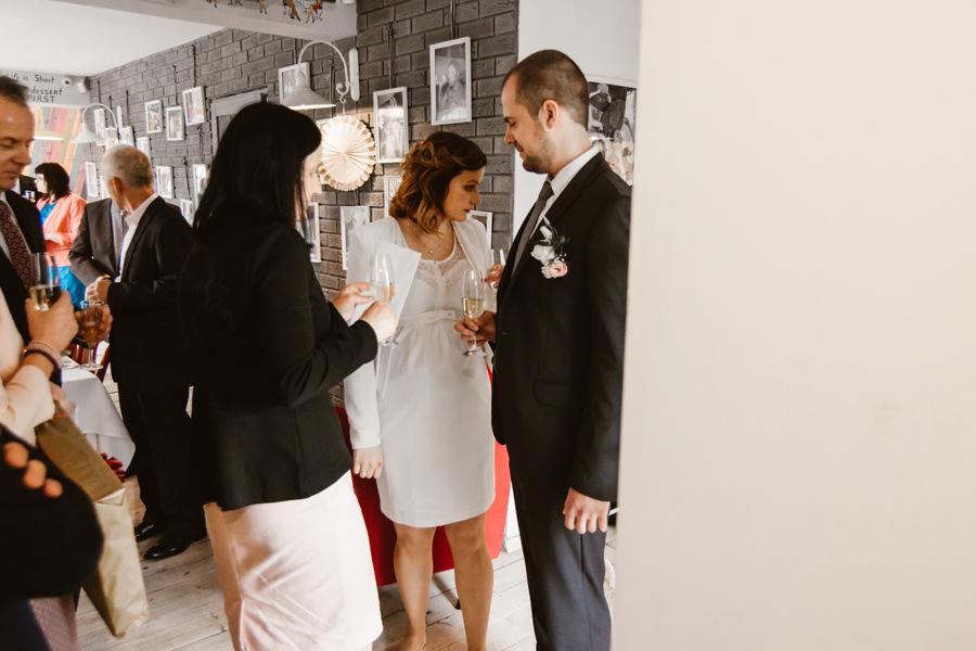 niewielkie przyjęcie weselne w Krakowie