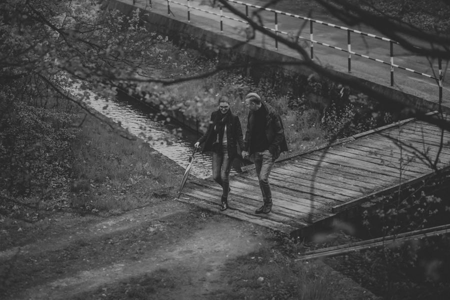 sesja na moście