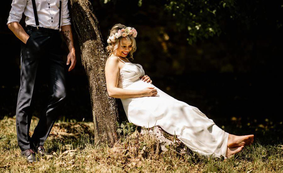 plener ślubny w Trzebinii