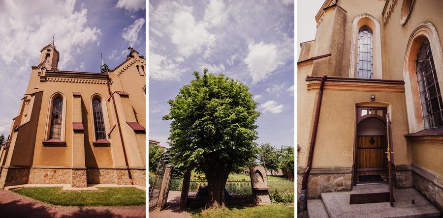 kościół w Markowej