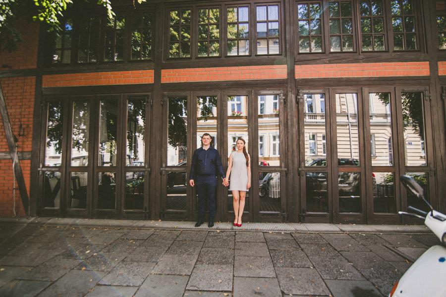 sesja narzeczeńska w centrum Krakowa