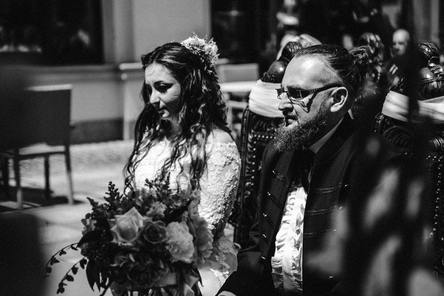 ślub na zamku w Tarnowskich Górach