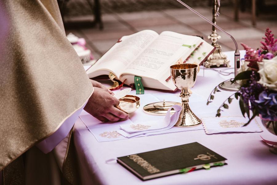 ślub kościelny w zamku