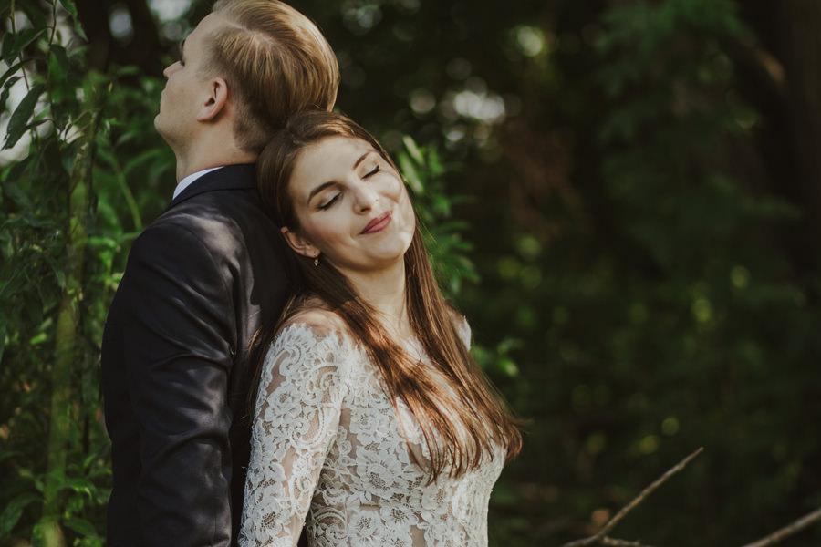 sesja ślubna naturalna
