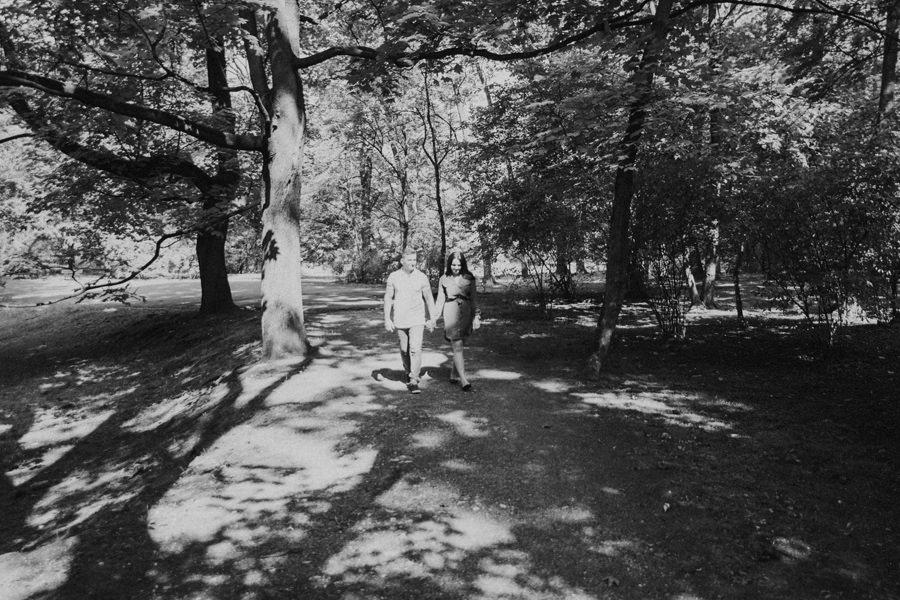 plener w parku