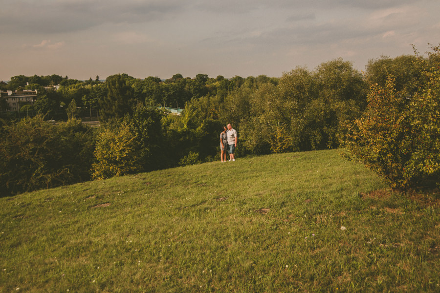 sesja w parku