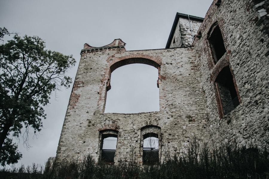 zamek rudno