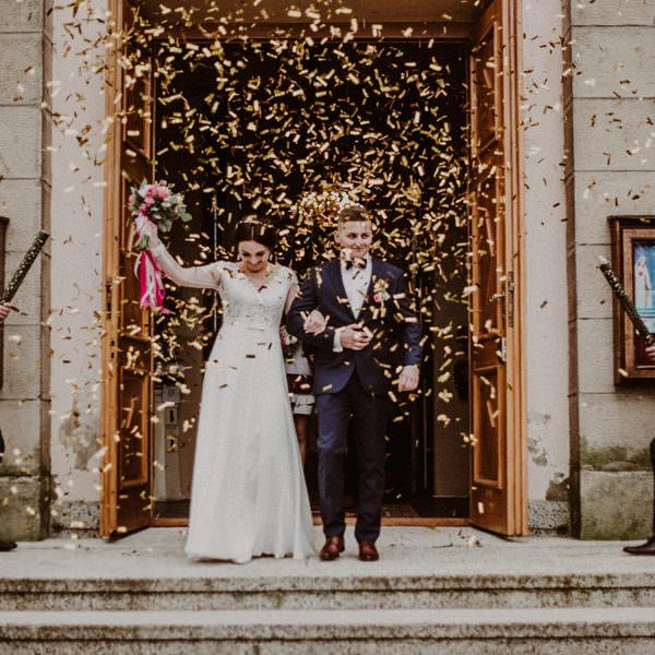 Ślub i wesele w Dobczycach - Wiola i Mateusz
