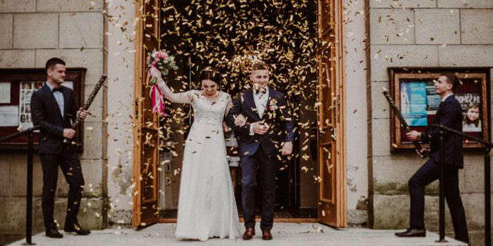 Ślub i wesele pod Krakowem - Wiola i Mateusz