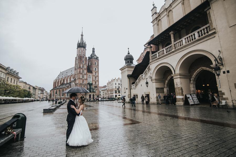 Plener w Krakowie