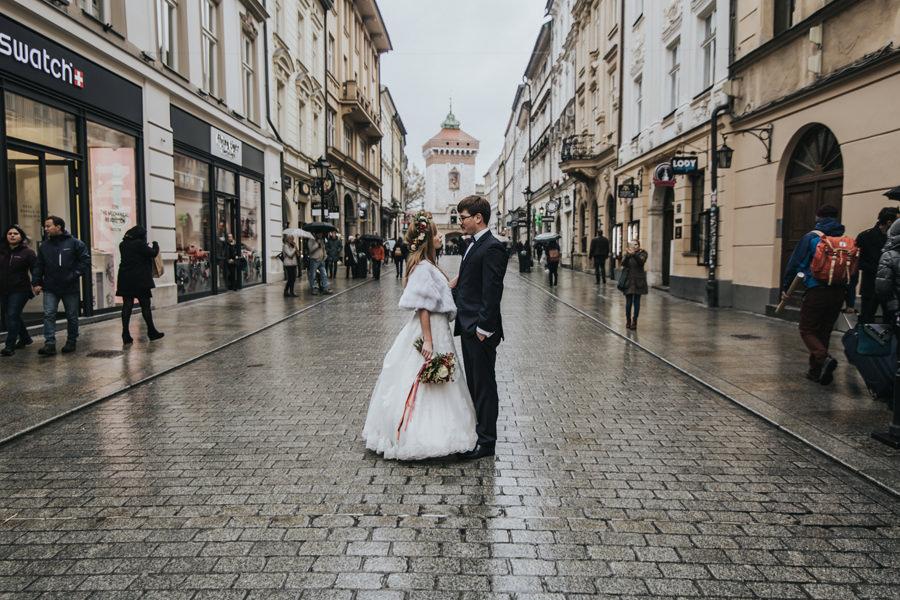 sesja plenerowa w Krakowie