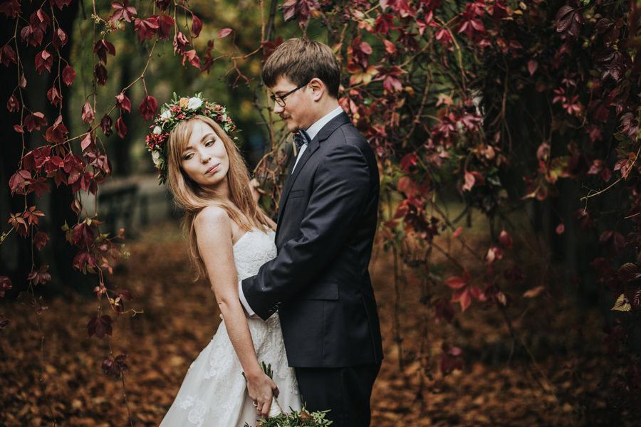 sesja ślubna w mieście
