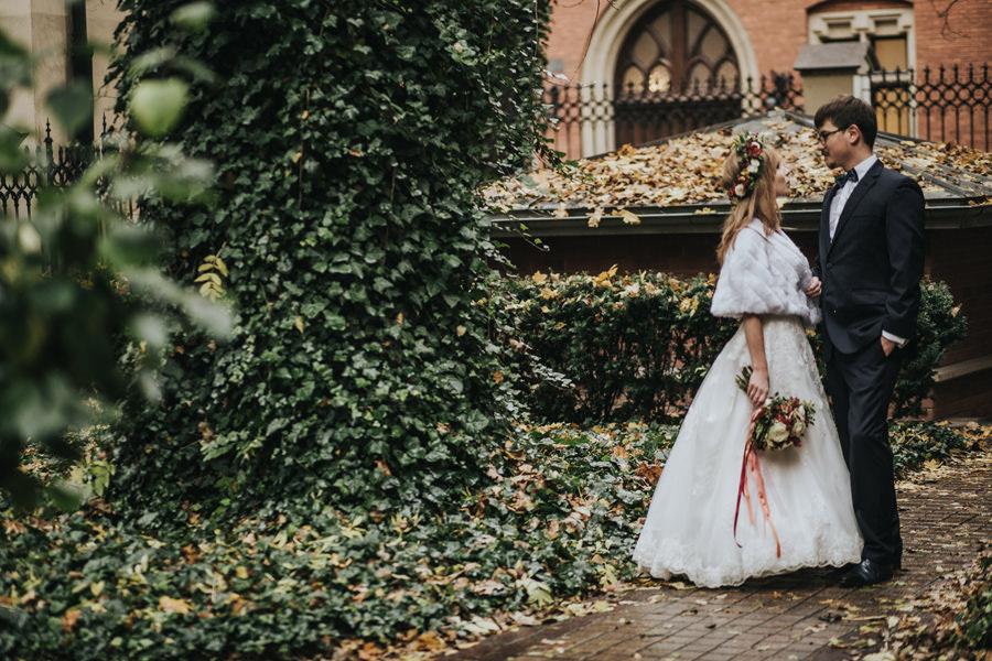 jesienny plener w Krakowie