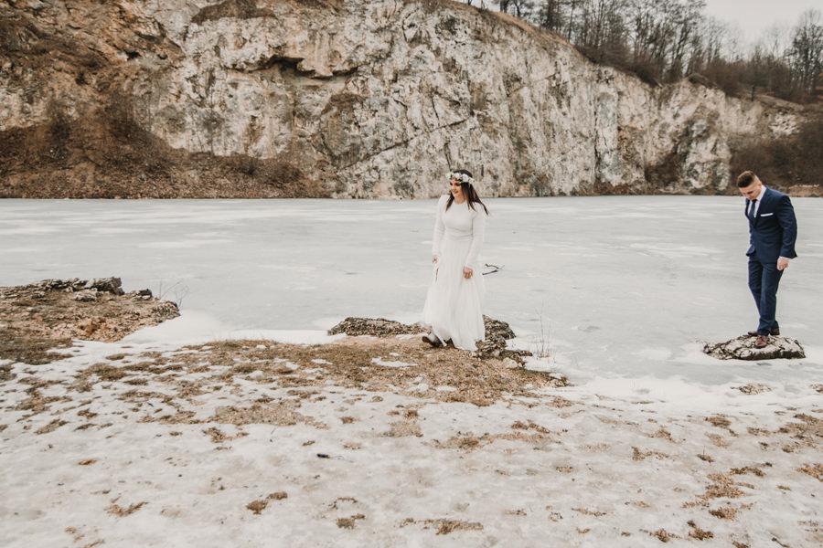 zimowy plener pod Krakowem