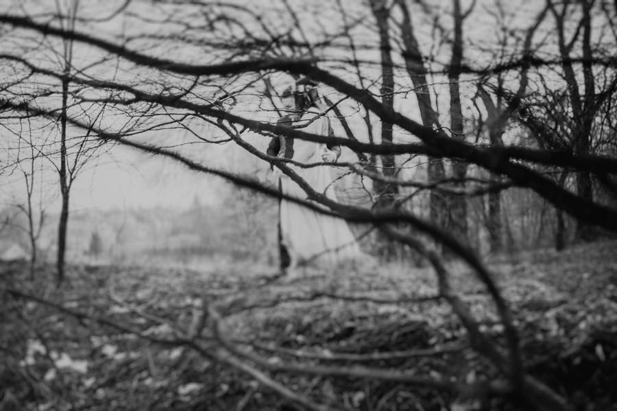 zimowa sesja plenerowa
