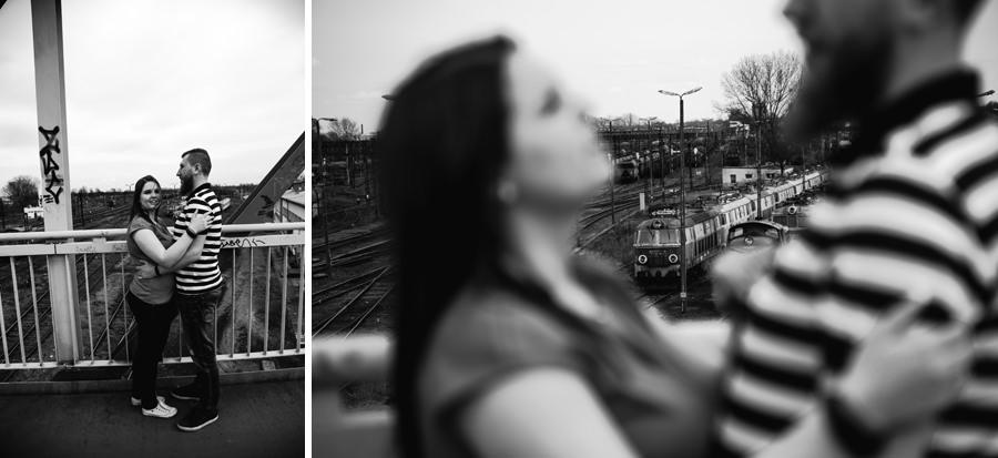 Sesja z pociągiem