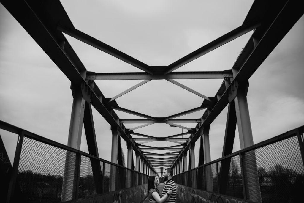 Czarno-biała sesja na Bagrach