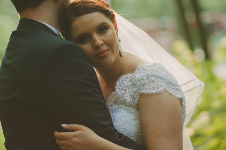 sesja ślubna w parku śląskim