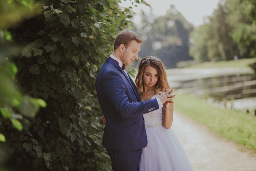 Plener ślubny w Arkadii