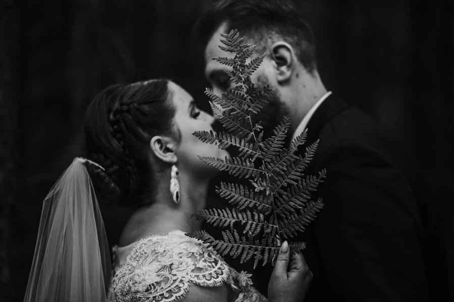 zdjęcia ślubne paproć