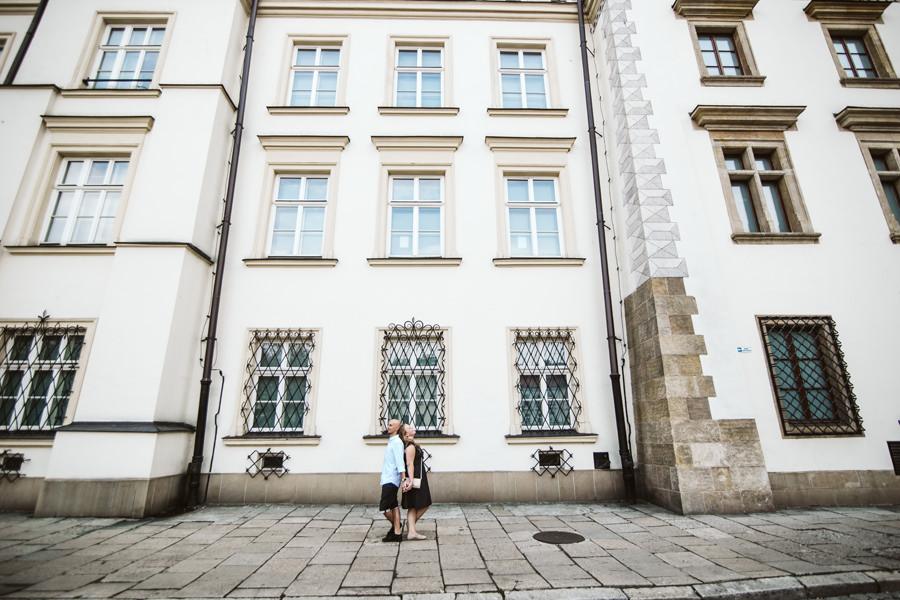 sesja przedślubna na Kazimierzu