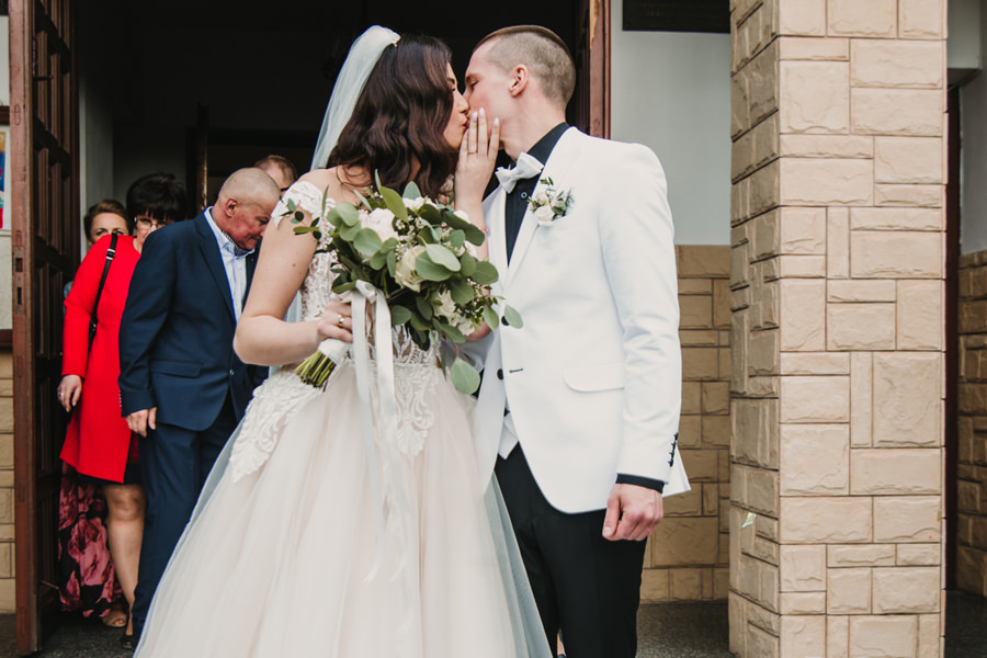 emocje na ślubie