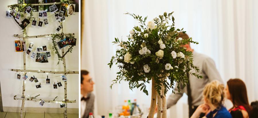 kwiaty na weselu