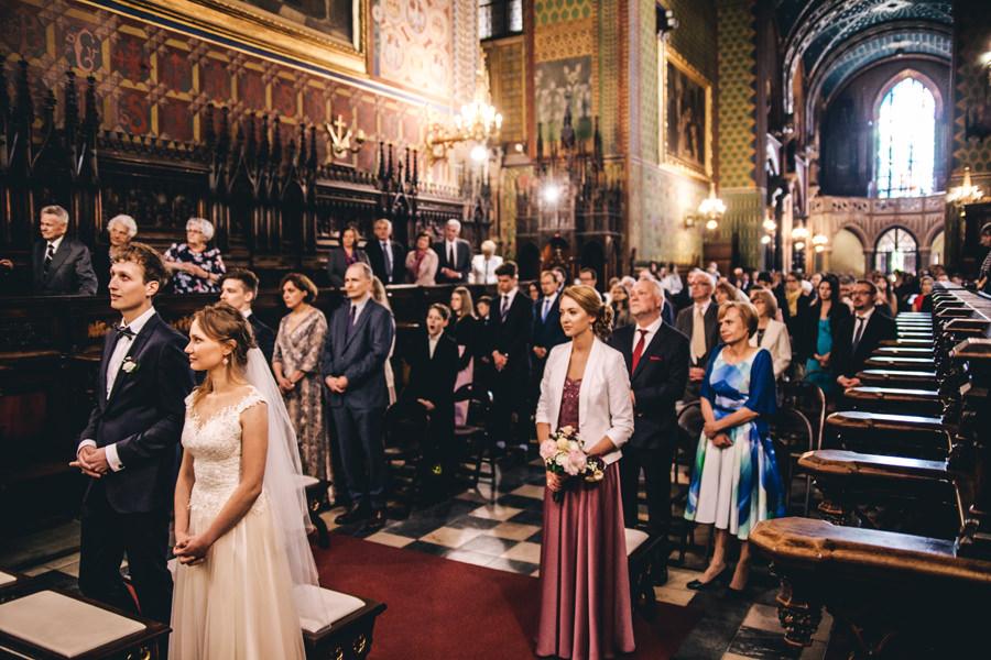 ślub w bazylice franciszkanów w krakowie
