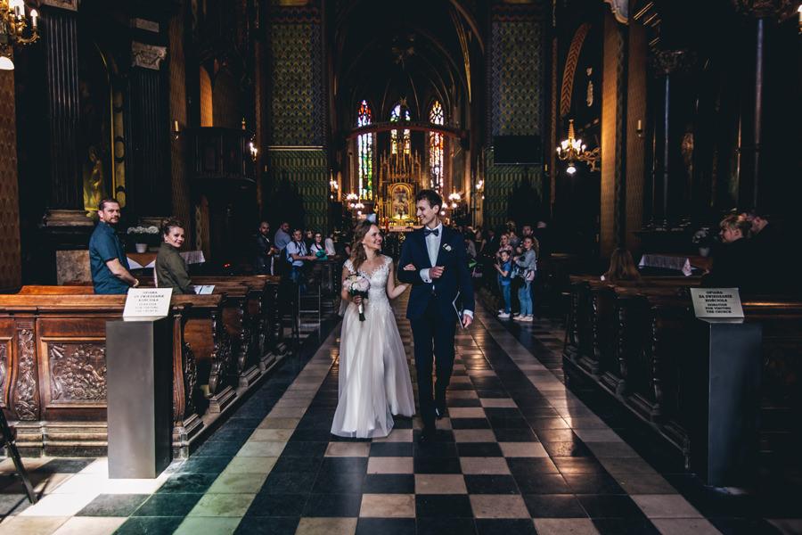 ślub w centrum krakowa