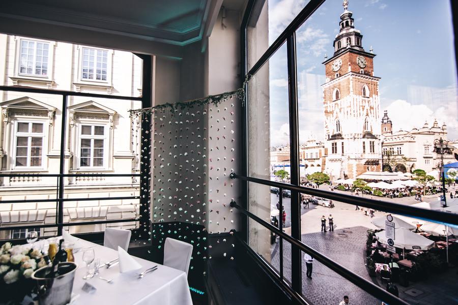 wesele w centrum krakowa