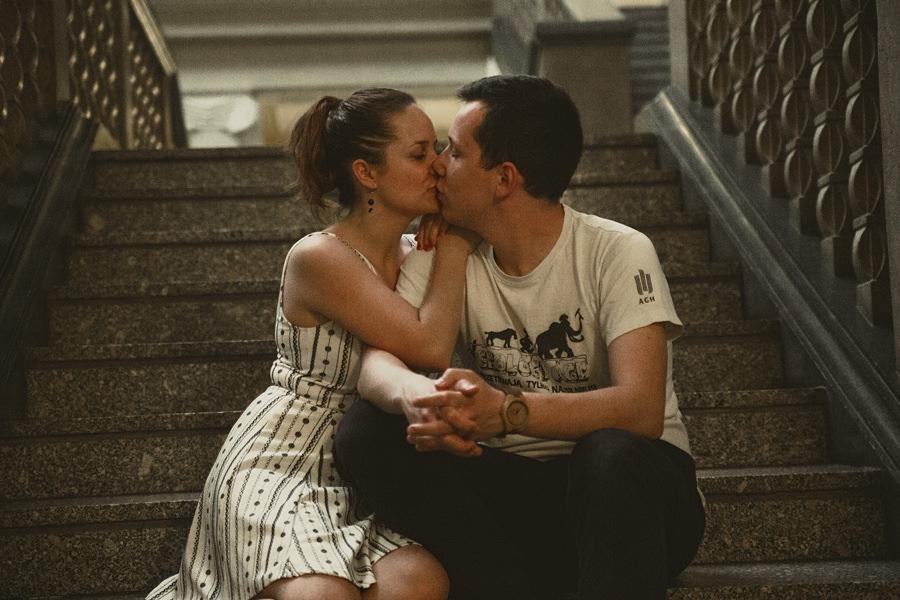 romantyczna sesja w krakowie
