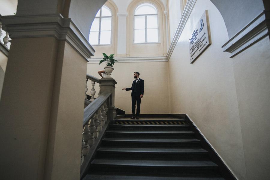 sesja w pałacu