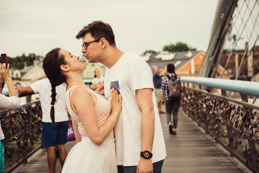 most zakochanych w krakowie