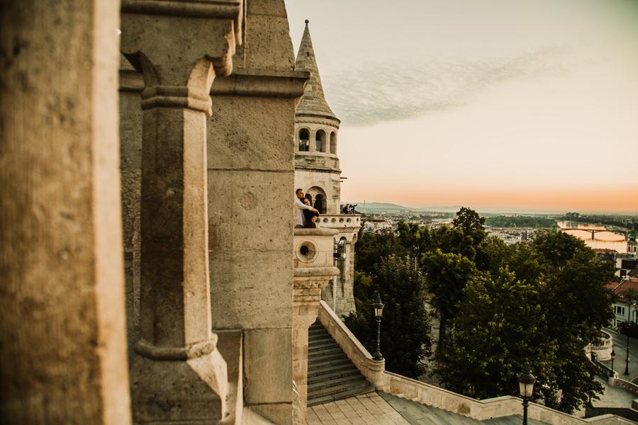 sesja narzeczeńska w Budapeszcie