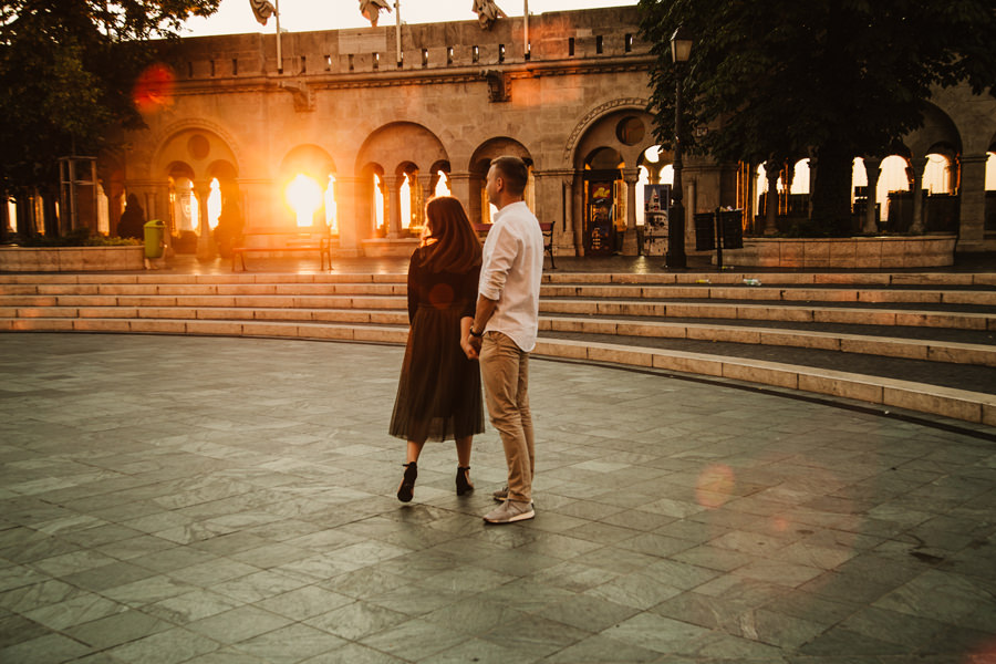 engagement photoshoot in Budapest