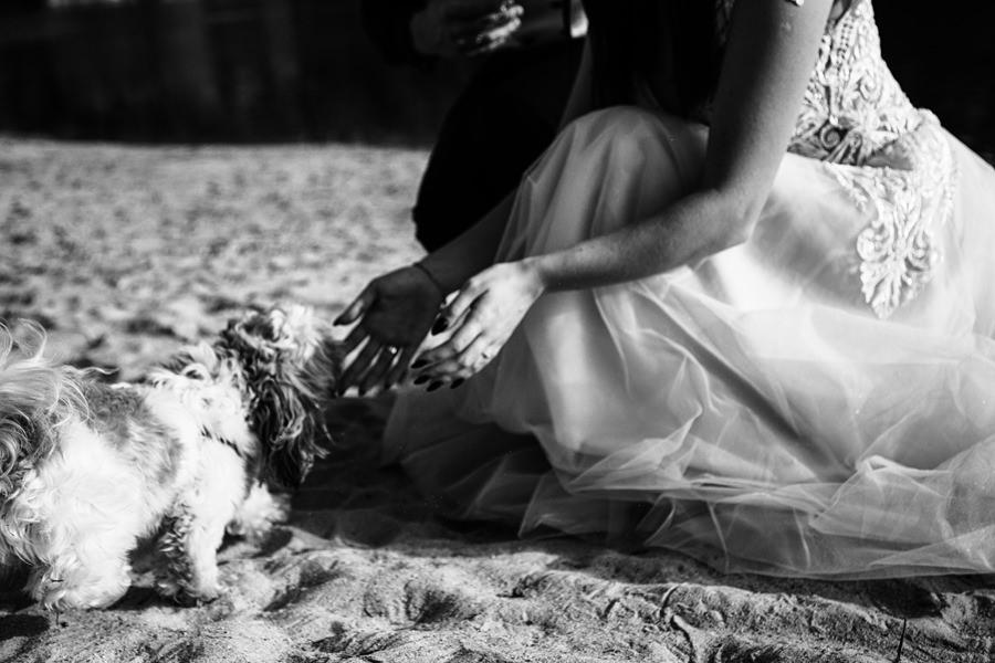 plener ślubny poza miastem