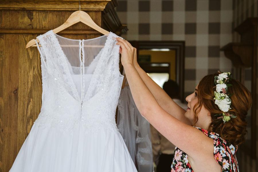 suknia ślubna zakopane