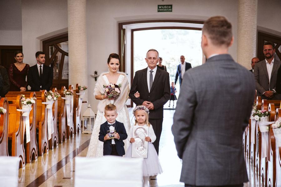 ślub w mszanie dolnej