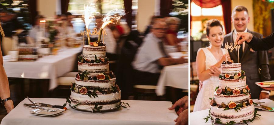 tort owocowy na wesele