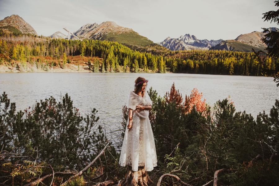 Sesja ślubna nad Szczyrbskim Jeziorem