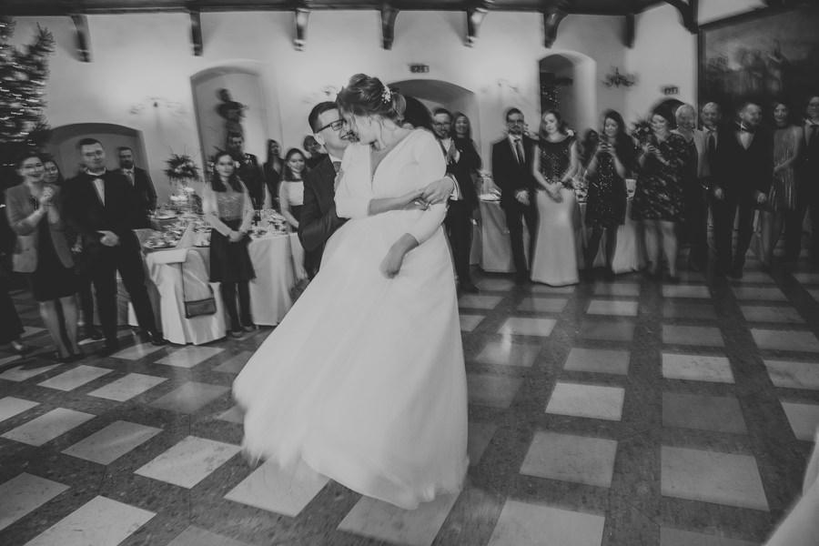 wesele na zamku w niepołomicach