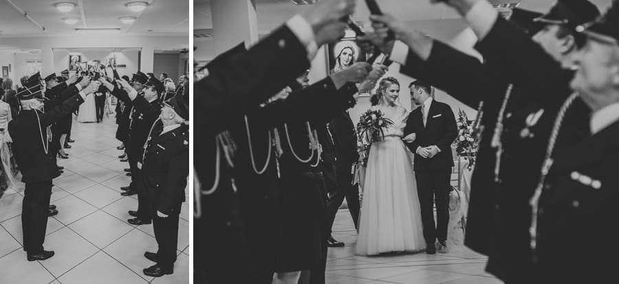 strażacki ślub