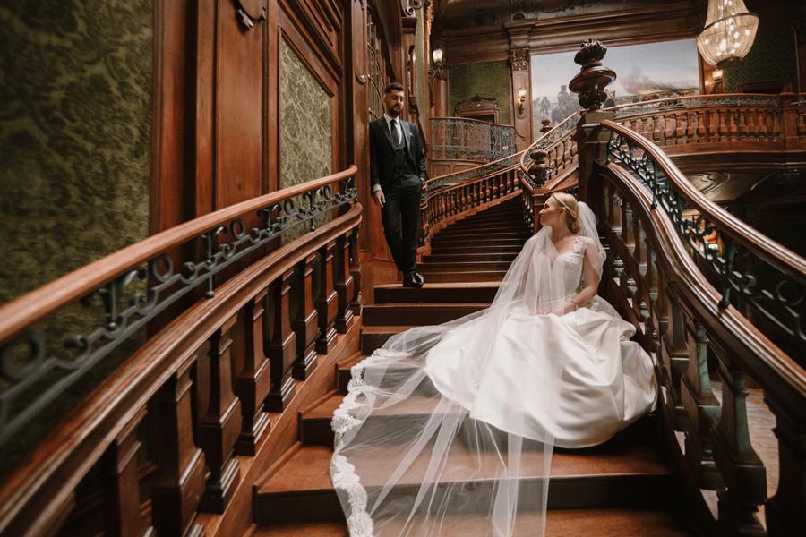 sesja ślubna w Pałacu Goetzów