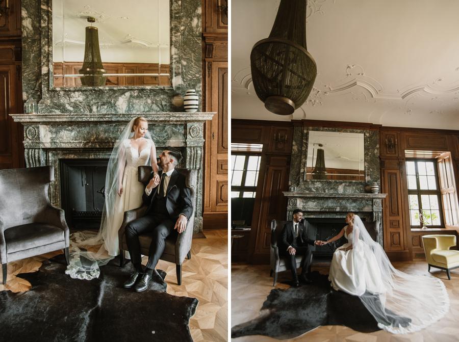 sesja ślubna w Pałac Goetz