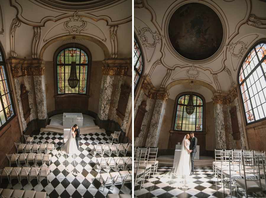 ślub w kaplicy pałacowej