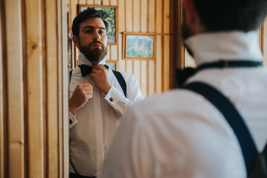 muszka na ślubie