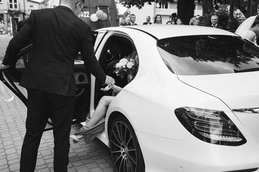 samochód do ślubu sokołów podlaski