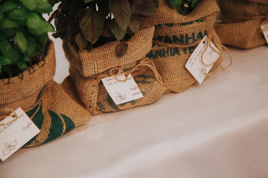 zioła jako prezent dla gości
